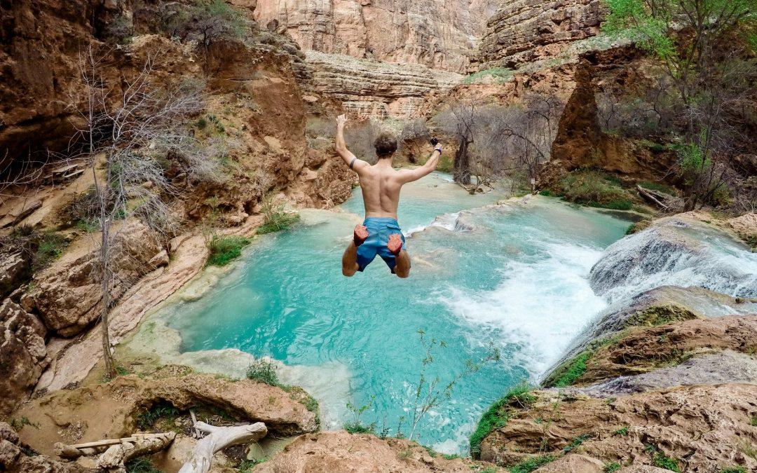 Een internationale avontuurlijke reis vakantiereis plannen